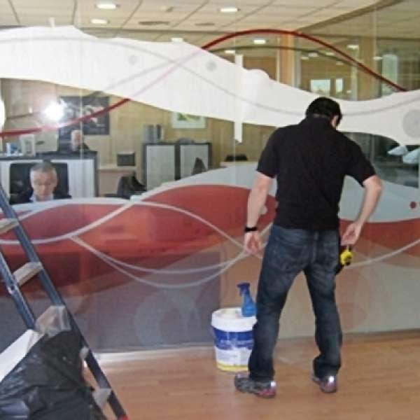 Poli-Etch - Etch Glass Films Silver Frosty - Polymeric 1220mm x 50m