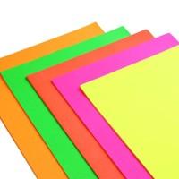 Sunijet Fluorescent Paper Fluorescent Pink Paper 90gsm - 841mm x 135m