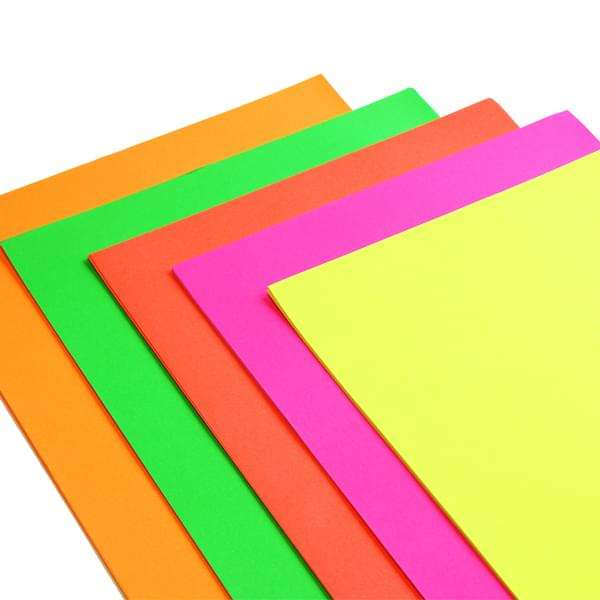 Sunijet Fluorescent Paper Fluorescent Red Paper 90gsm - 841mm x 135m
