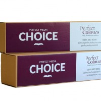 Choice Blue Back Billboard Paper 123gsm 1372mm x 80m
