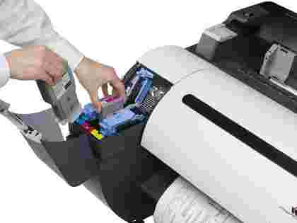 Canon imagePROGRAF iPF785 installing and replacing inks