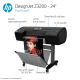 HP DesignJet Z3200 Large Format PostScript® Photo Printer - 24