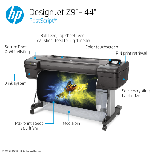 HP DesignJet Z9+ Large Format PostScript® Photo Printer - 44
