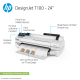 HP DesignJet T100 Large Format Compact Wireless Printer - 24