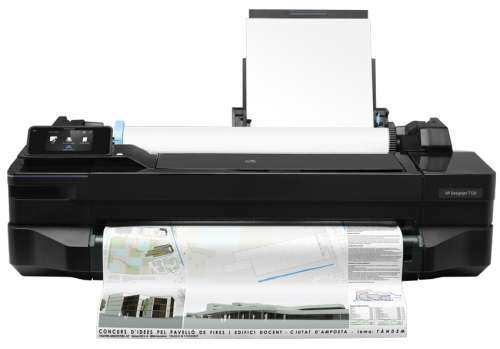 HP DesignJet T120 Large Format Compact Wireless Printer - 24