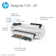 HP DesignJet T125 Large Format Compact Wireless Printer - 24
