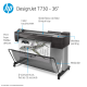 HP DesignJet T730 Large Format Wireless Printer - 36