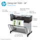 HP DesignJet T830 Large Format Multifunction Wireless Printer - 24