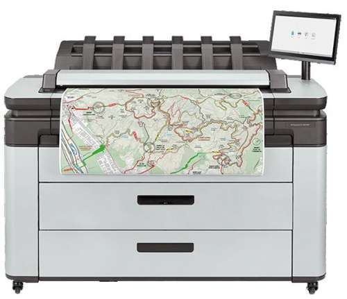 HP DesignJet XL 3600 36in Multifunction Printer (6KD23H)