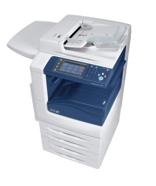 The Xerox WorkCentre 7120 series