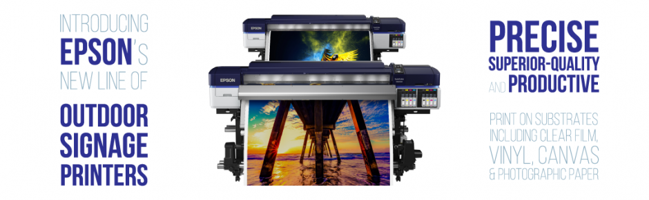 Soup up your signage with the new Epson SureColor range