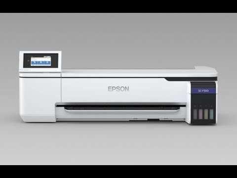 The new Epson SC F500 – dye sub on your desktop