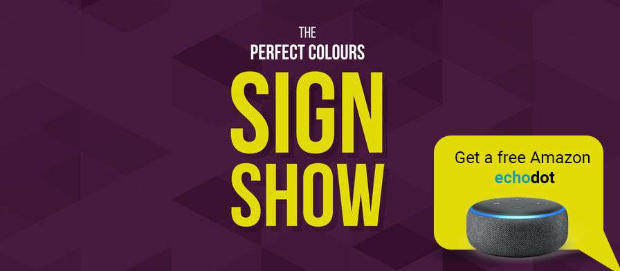 Sign up for the Sign Show – there's still time!