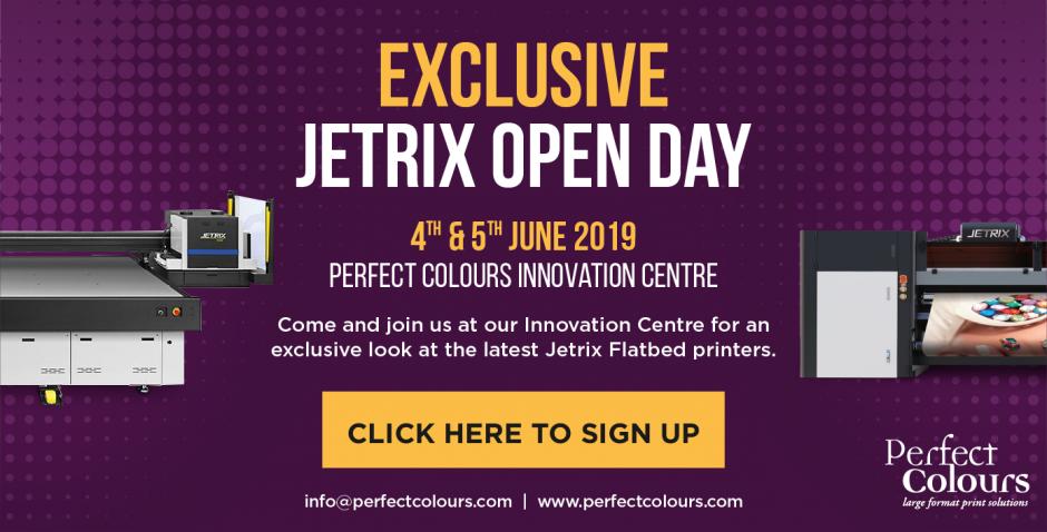 Perfect Colours Jetrix Event