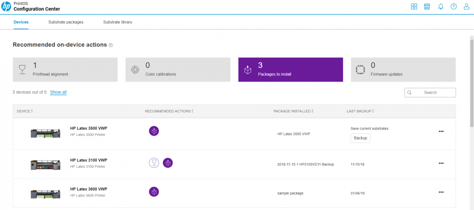 Introducing the new HP Configuration Center