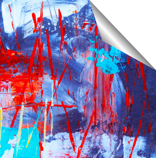 Media Spotlight: TEX-RA opaque self-adhesive fabric
