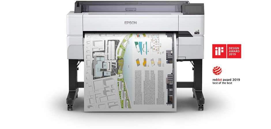 Meet the new Epson SureColor SC-T5400M