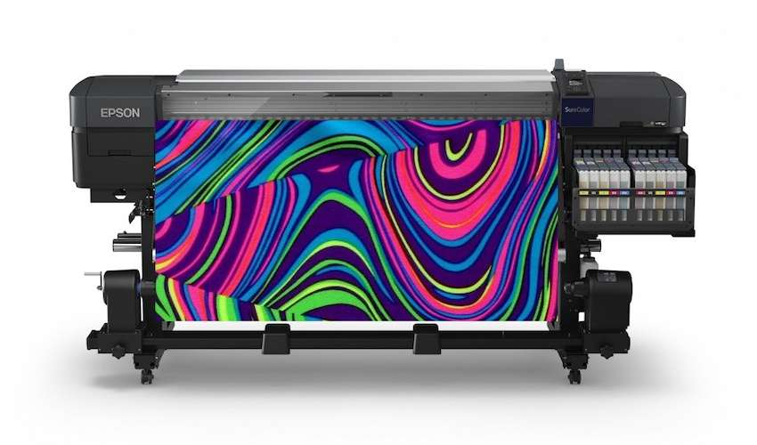 Announcing Epson's first genuine fluorescent ink textile printer