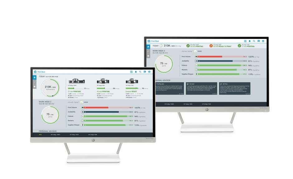 Are you using the new HP Print Beat Dashboard?