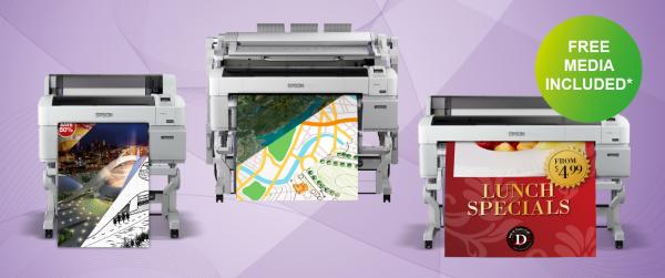FREE Media Bundles when you buy a new Epson SC-Tx200 printer
