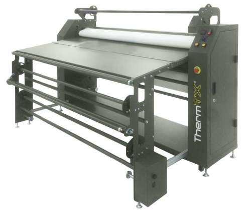 "ThermTX 64"" and 75"" TTX Rotary Calander Heat Press"