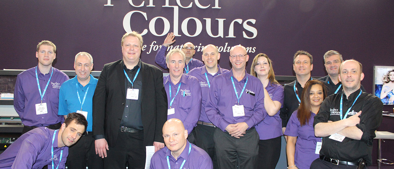 Meet the Perfect Colours team at our exclusive HP Designjet event