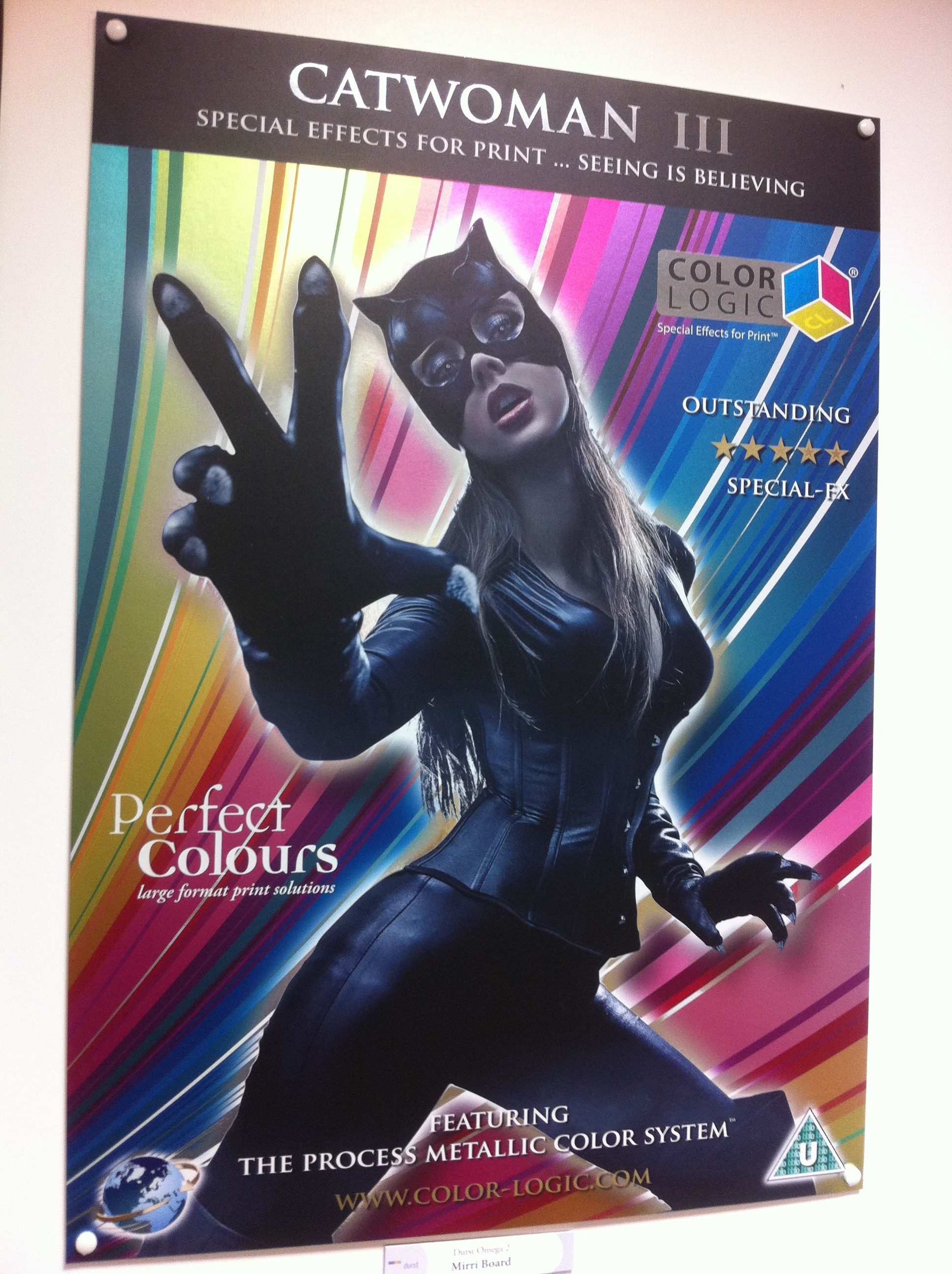 Color Logic Metallic Print on Durst Omega 2
