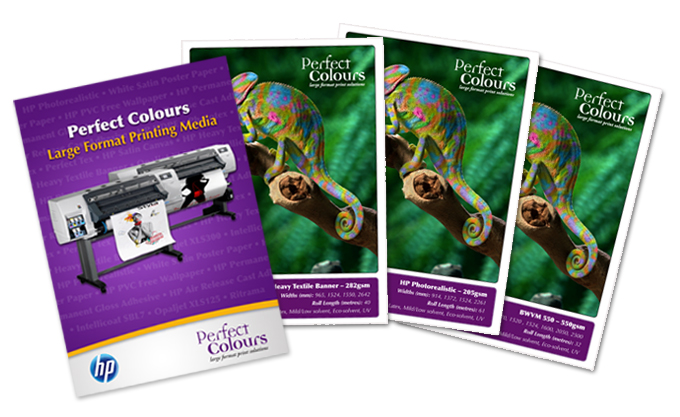 NEW Perfect Colours Swatch Book