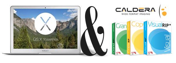 Caldera V9.20 and OS X Yosemite
